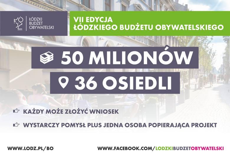 23 maja rozpocznie się nabór projektów do VII edycji budżetu obywatelskiego Łodzi na rok 2020. Termin ich składania upływa 10 czerwca.– W tym roku, w