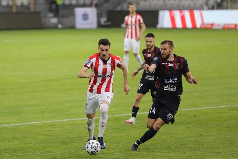 29 czerwca 2020 Cracovia pokonała na swoim boisku Pogoń 2-1.