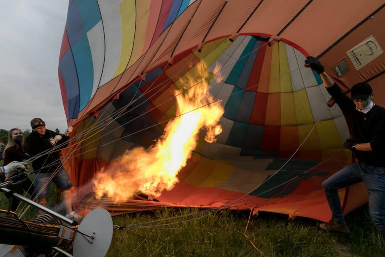 Kraków. Niebo nad miastem opanowały balony! [ZDJĘCIA]