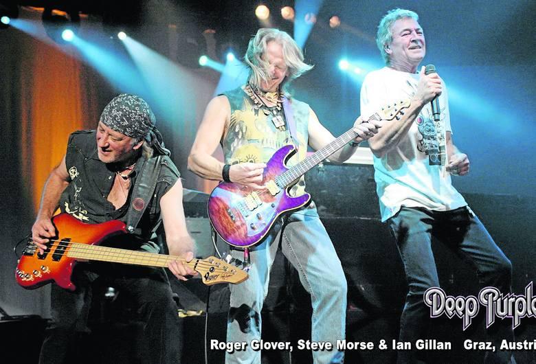 Tak się dziś prezentują Roger Glover, Steve Morse i Ian Gillan, czyli Deep Purple po 45 latach na scenie nadal w świetnej formie