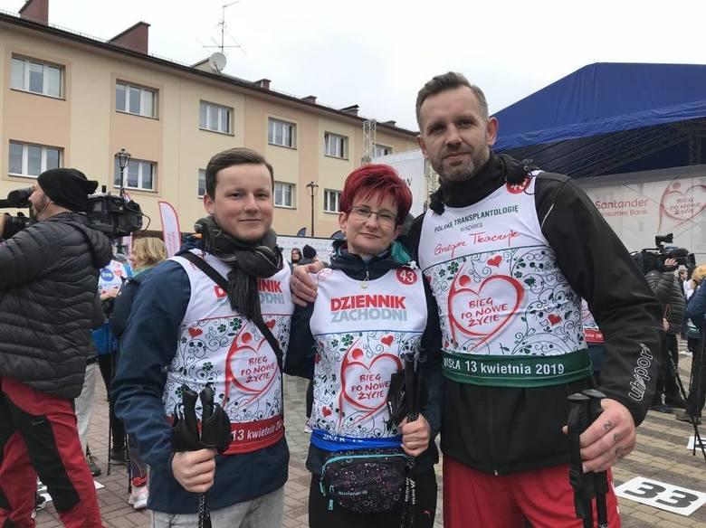Byli piłkarze ręczni PGE VIVE Kielce i reprezentacji Polski, Mariusz Jurasik i Grzegorz Tkaczyk (na zdjęciu), a także pochodzący z Kielc aktor Rafał