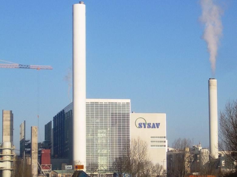 Nowoczesna spalarnia odpadów w szwedzkim Malmö