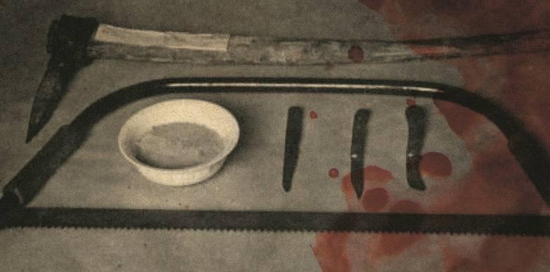 Potworna kuchnia Karla Denkego. Zdjęcie z materiałów policyjnych