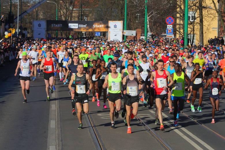 12. PKO Poznań Półmaraton 14 kwietnia (niedziela)To największy bieg w Wielkopolsce, który w tym roku znów celuje w rekord frekwencji. W 2016 r. na mecie