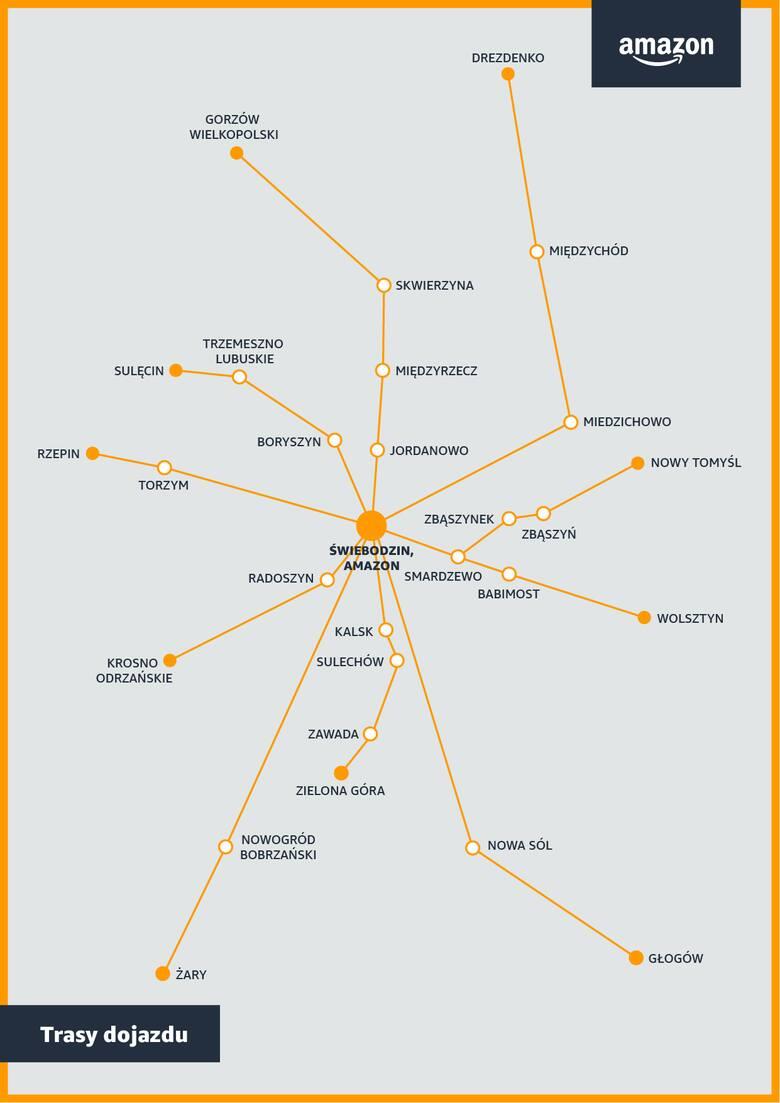 Niedługo otwarcie centrum logistycznego Amazon w Świebodzinie. Firma rekrutuje i podnosi pensje