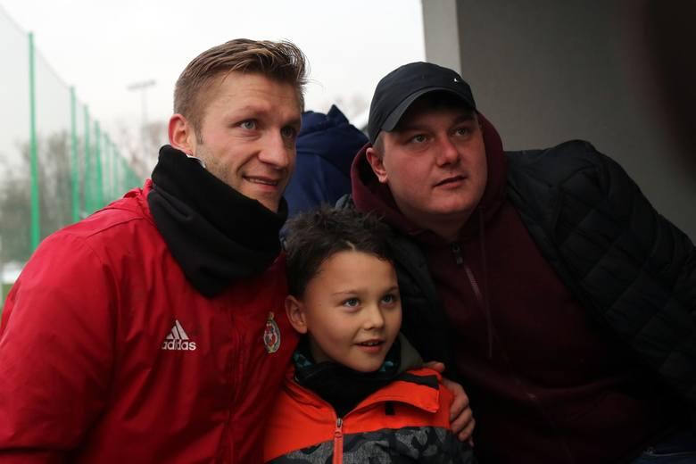 Jakub Błaszczykowski wziął udział w treningu Wisły Kraków