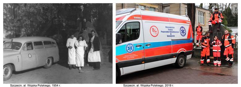 Pogotowie Ratunkowe w Szczecinie zostało powołane 11 sierpnia 1949 roku i początkowo mieściło się w siedzibie Polskiego Czerwonego Krzyża przy al. Wojska