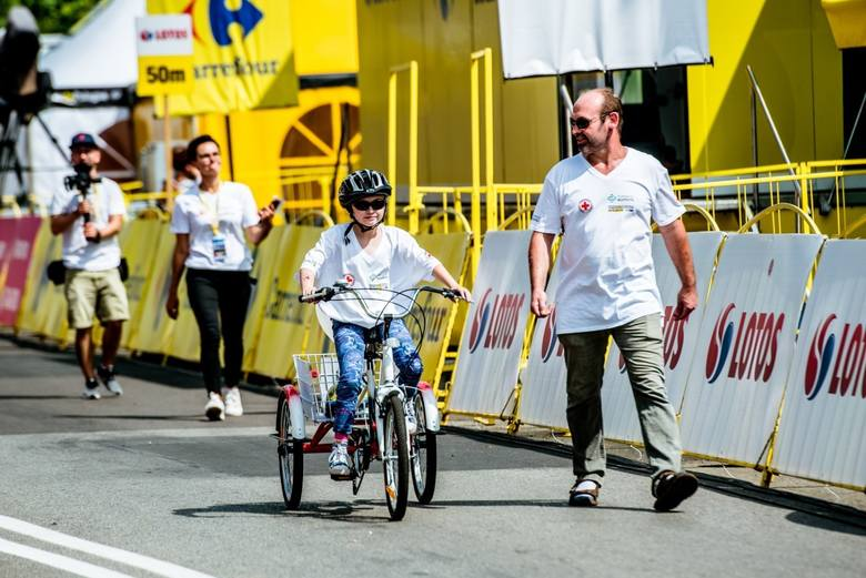 Możliwość wystartowania w Tour de Pologne była wielkim przeżyciem dla wszystkich uczestników.