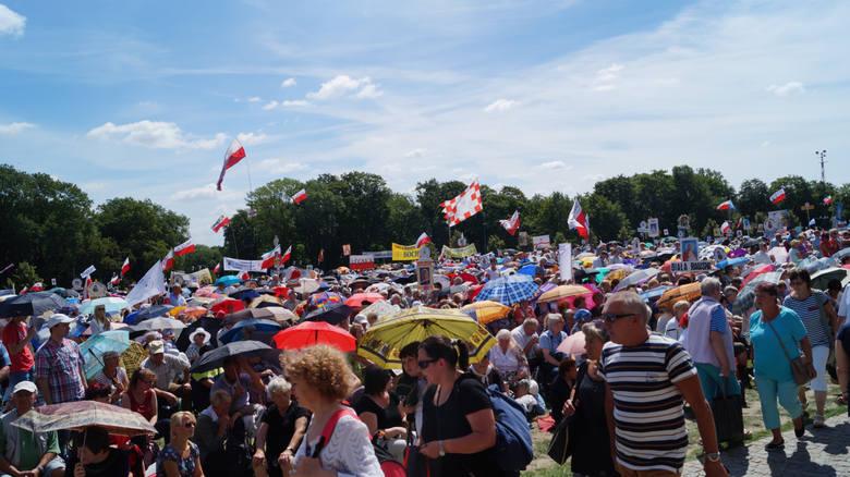 10.07.2016, czestochowa, radio maryja, pielgrzymka radia maryja, fot. piotr ciastek polskapress/dziennik zachodni