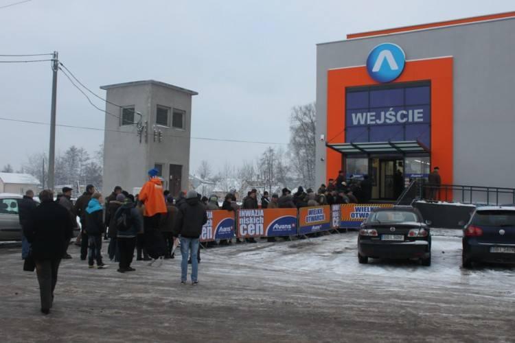 Wielkie otwarcie w Bielsku. Nowy elektromarket Avans już działa (zdjęcia)