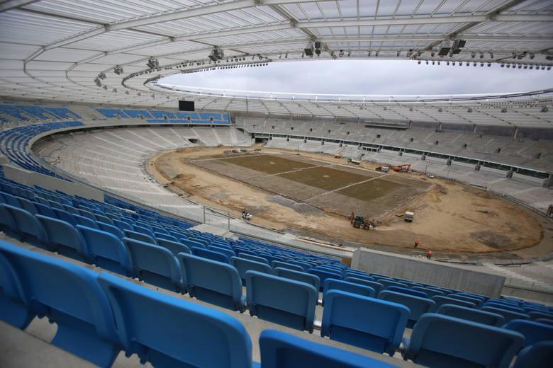 Modernizacja Stadionu Śląskiego - 20 marca 2017 roku.
