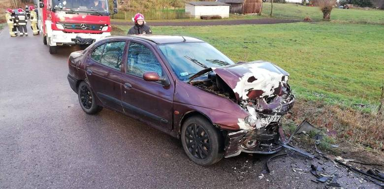 W środę, po godz. 8, na drodze relacji Jasionówka - Kujbiedy doszło do wypadku.