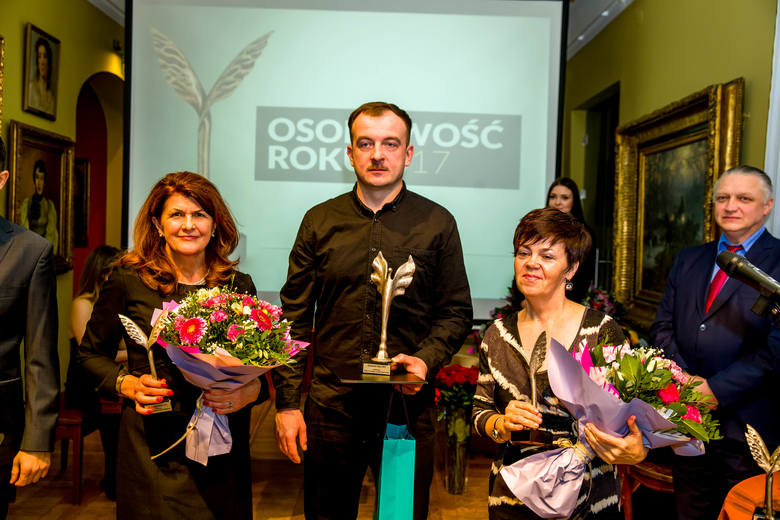Osobowość Roku 2017 - Kultura1. Cezary Chwicewski2. Dorota Halicka3. Janina Osewska