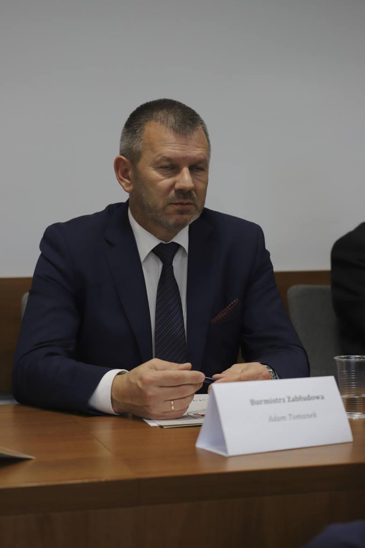 Adam Tomanek, burmistrz Zabłudowa