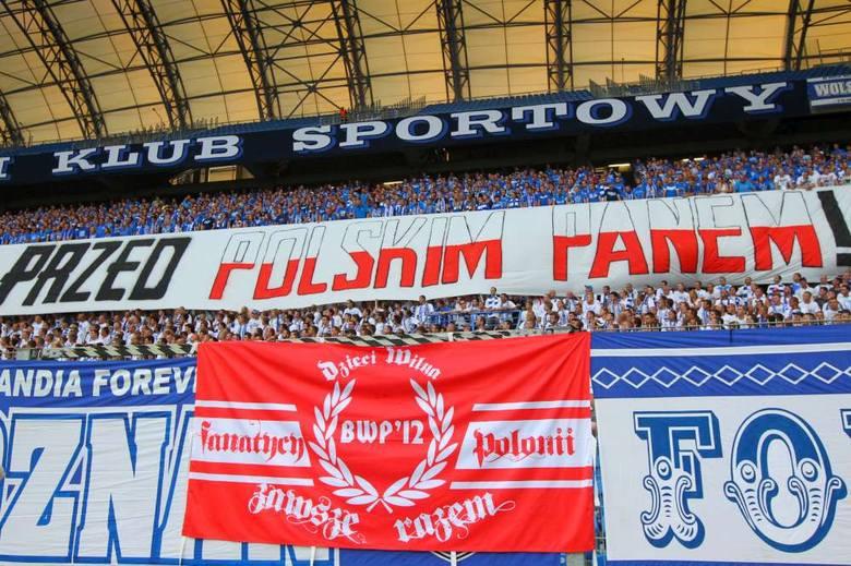 Oświadczenie Lecha Poznań: Zrobimy wszystko, żeby podobne transparenty już się nie pojawiły