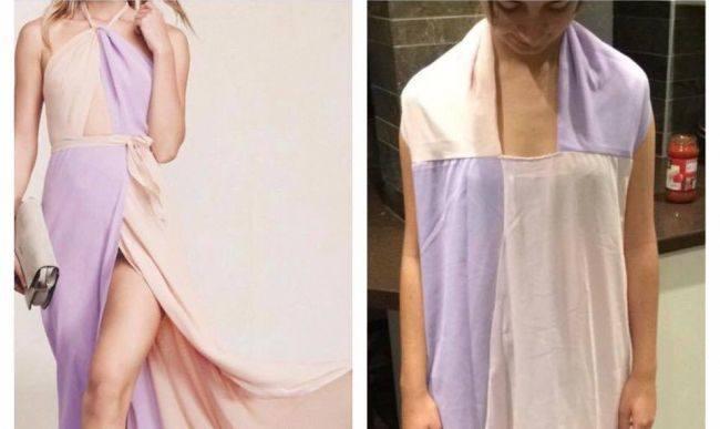 Ubrania z internetowych sklepów nie zawsze wyglądają tak, jak na zdjęciach. Zobacz najbardziej rozczarowujące efekty zakupów online. Więcej wolnego od