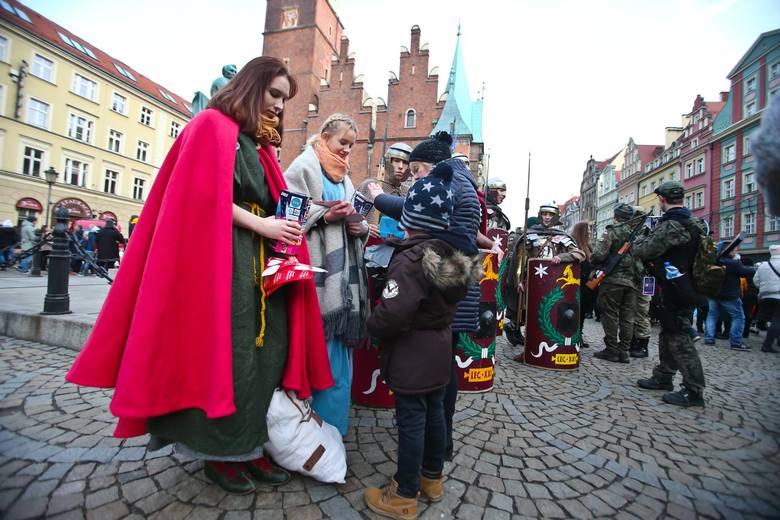 Wielka Orkiestra Świątecznej Pomocy we Wrocławiu grała tym razem na Rynku