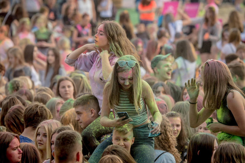 festiwal kolorow