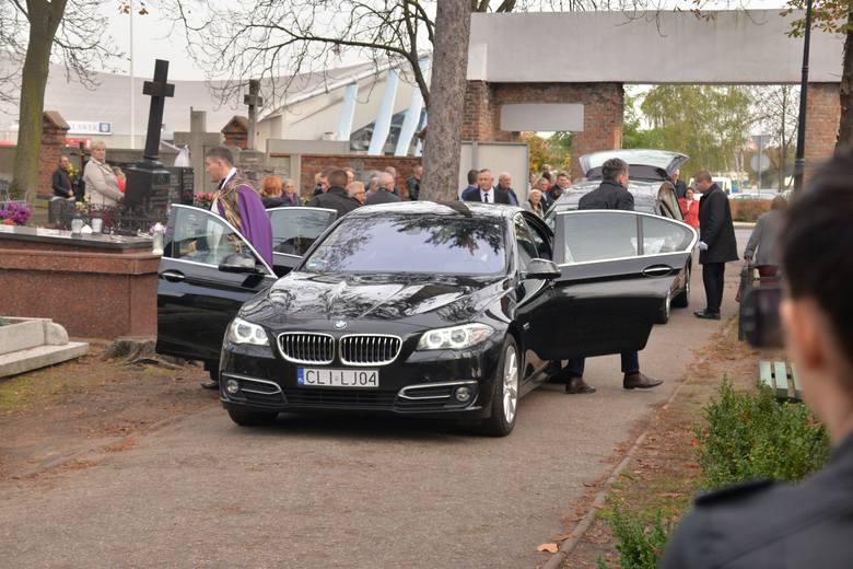 Pogrzeb śmiertelnie potrąconego 33-letniego Adama z Włocławka [zdjęcia]