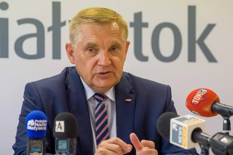 Jeśli jednak będzie tego wymagało zapewnienie właściwego funkcjonowania miasta w czasie epidemii, prezydent Białegostoku będzie mógł złożyć wniosek o