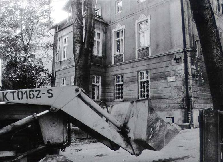 Powódź 1997 w Opolu. Dom Dziecka na Powstańców Śląskich.