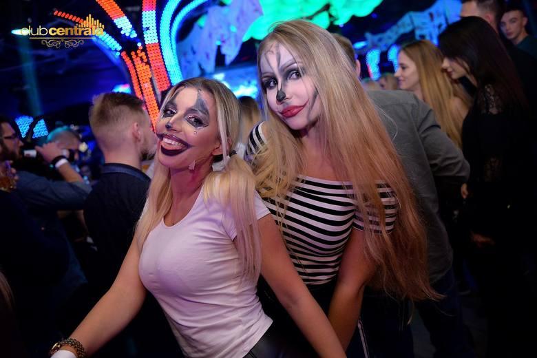 Mroczne Halloween, czyli kolejna impreza w słupskim klubie Centrala. O oprawę muzyczną zadbał DJ MUSH. Zobacz fotogalerię. Więcej informacji o klubie