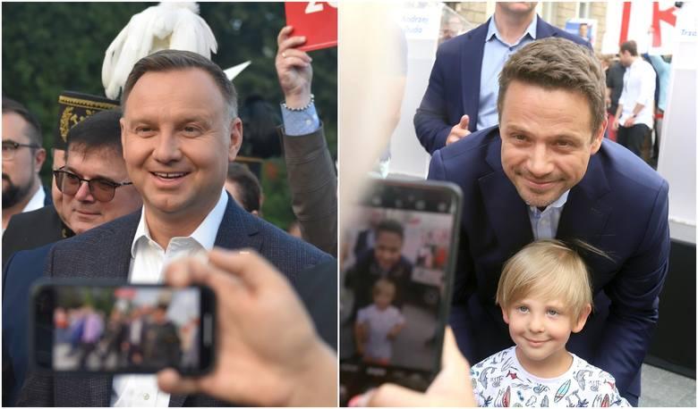 Andrzej Duda i Rafał Trzaskowski zmierzą się w drugiej turze wyborów prezydenckich w najbliższą niedzielę