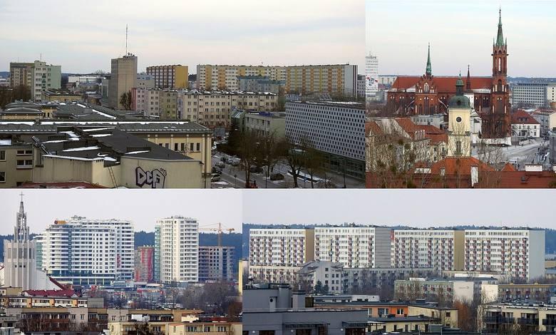 """Oto najnowsza panorama Białegostoku. Zdjęcia zostały wykonane 5 marca 2018 roku z dachu biurowca Birkbud, w którym mieści się redakcja """"Kuriera"""