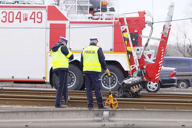Poznań: Po wypadku. Tramwaje na Hetmańskiej mogą nie jechać nawet kilka dni