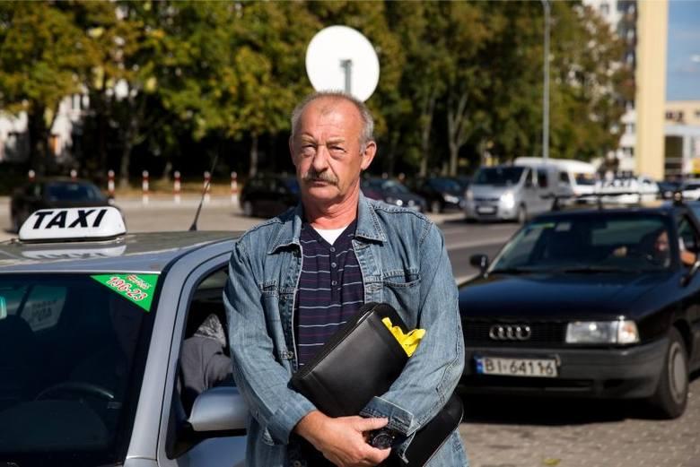 Taksówkarze chcą buspasów. W czwartek przejadą przez miasto (zdjęcia, wideo)