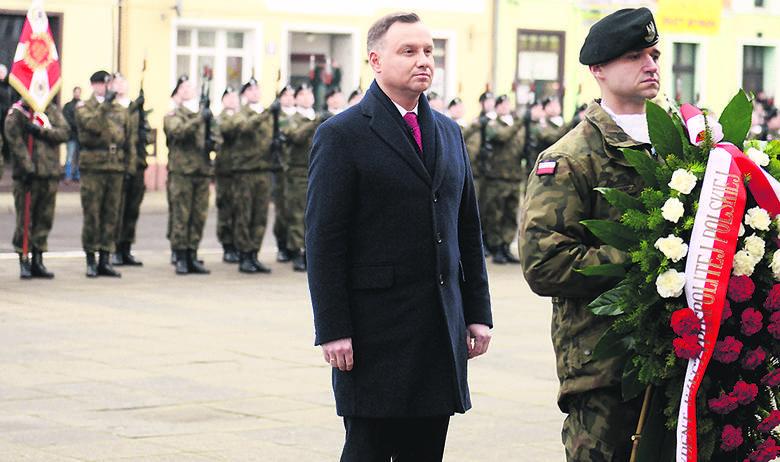 Andrzej Duda odwiedził Kargową w środę.