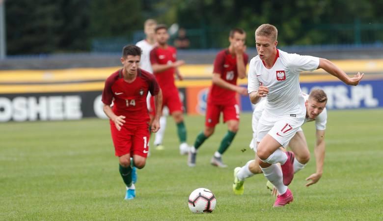 Mecz Polska - Portugalia U20 w Rzeszowie. Opinie piłkarzy. Wypowiedzi: Tymoteusz Puchacz i Dominik Steczyk