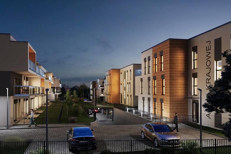 Malownik: Nowe osiedle mieszkaniowe w Katowicach Podlesiu[WIZUALIZACJE + WIDEO]
