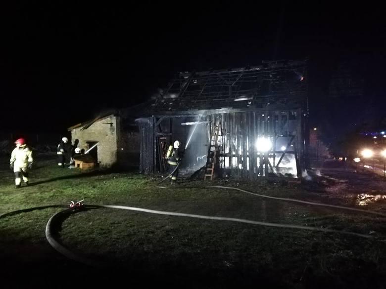 Do pożaru doszło w środę (2 stycznia) wieczorem w Budachowie (powiat krośnieński, gmina Bytnica).Około godziny 20.10 strażacy z OSP Bytnica zostali wezwani