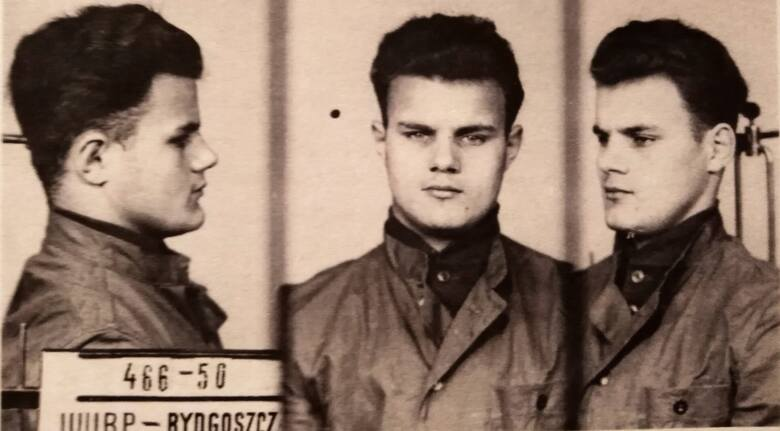 Zbigniew Rostek w areszcie WUBP w Bydgoszczy