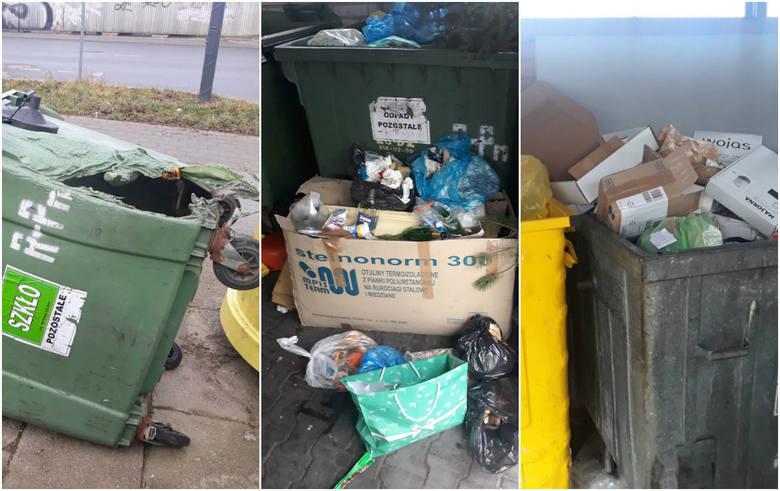 Wprowadzona na początku grudnia zeszłego roku obowiązkowa segregacja odpadów nie wszędzie zdaje egzamin. Dobrze widać to choćby na osiedlu Retkinia-Północ,