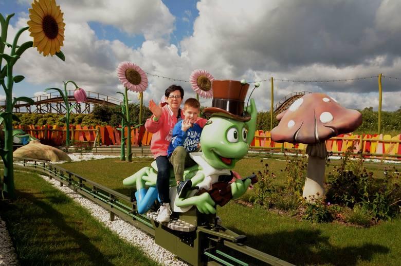We wtorek, 10 września podopieczni Ośrodka Szkolno-Wychowawczego im. Janusza Korczaka w Żaganiu doskonale bawili się w parku rozrywki MAJALAND Kownaty.To
