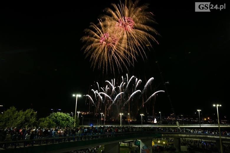Pyromagic 2018 w Szczecinie. Anglia zwycięzcą festiwalu fajerwerków [ZDJĘCIA, WIDEO]