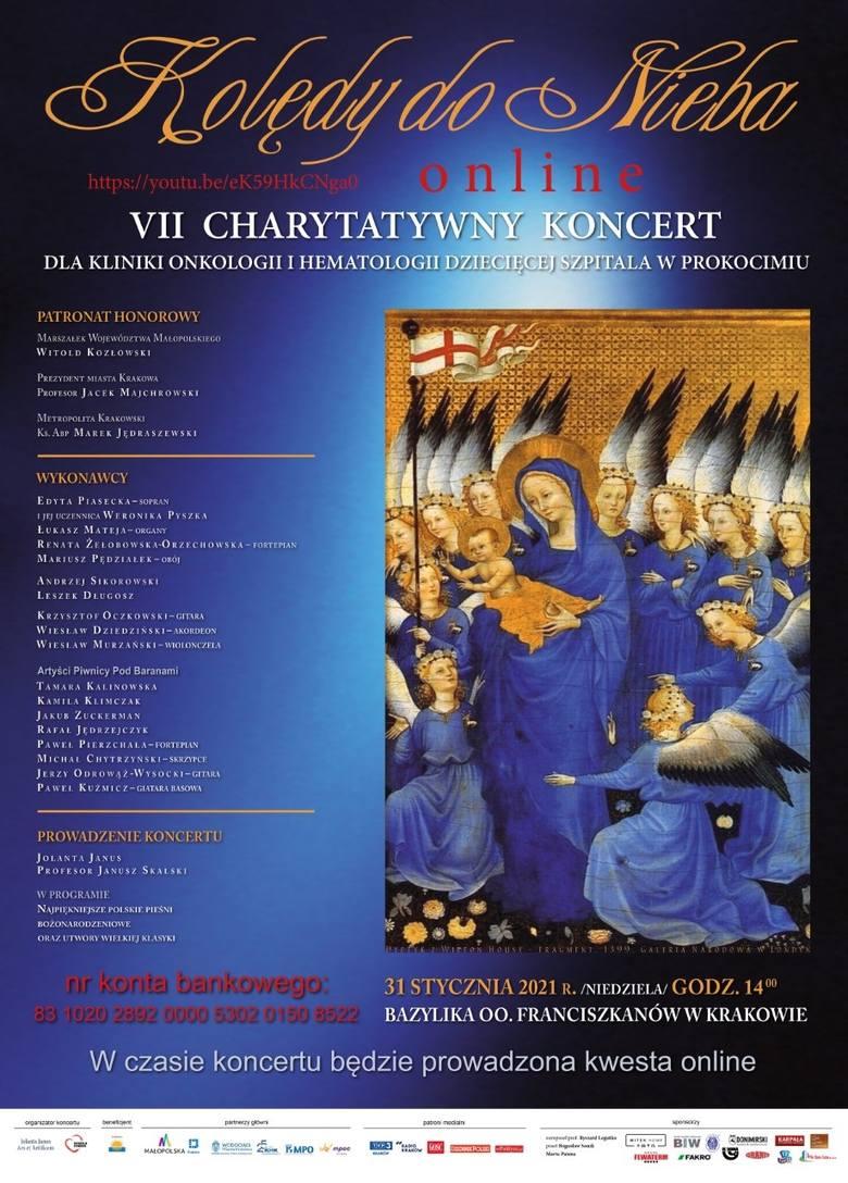 Kraków. W Bazylice Ojców Franciszkanów odbędzie się niezwykły koncert charytatywny dla chorych dzieci