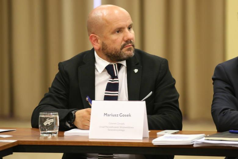Członek Zarządu Województwa Mariusz Gosek mówił, że budowa szprych będzie miała wpływ na rozwój gospodaczy regionu.