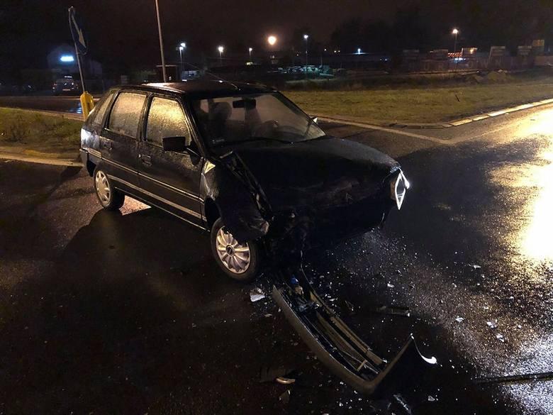 Do wypadku doszło w czwartek, 27 grudnia, na skrzyżowaniu ul. Głogowskiej z Wrocławską. Kierujący citroenem nad ranem wyjeżdżał z ul. Głogowskiej. –