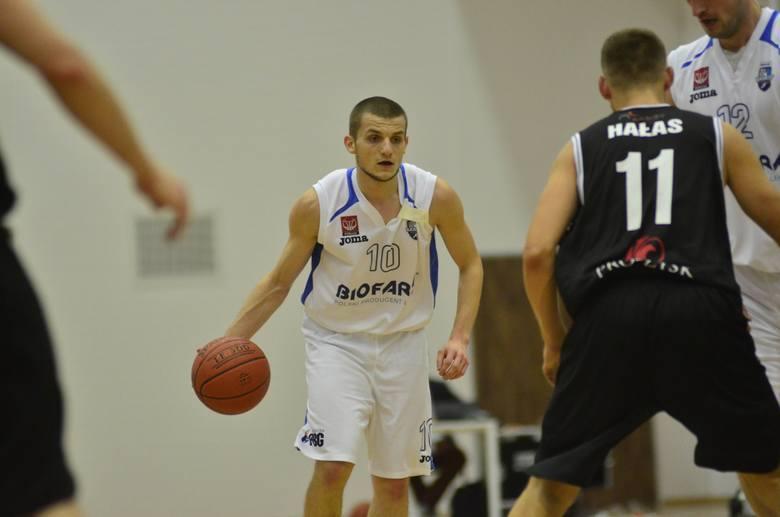 Rozgrywający Biofarmu, Piotr Wieloch, w sobotnim meczu zdobył pięć punktów