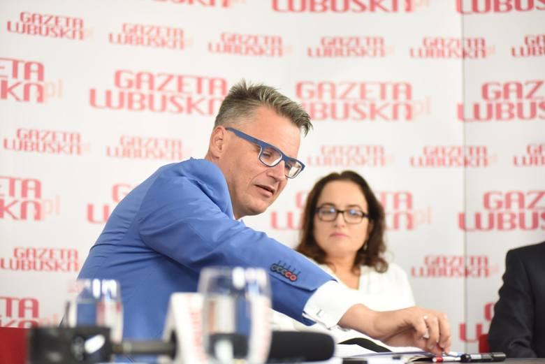 Prezydent Janusz Kubicki oraz posłanka Anita Kucharska - Dziedzic
