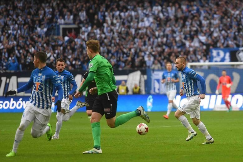 Oceniamy piłkarzy po meczu Lech Poznań - Górnik Łęczna