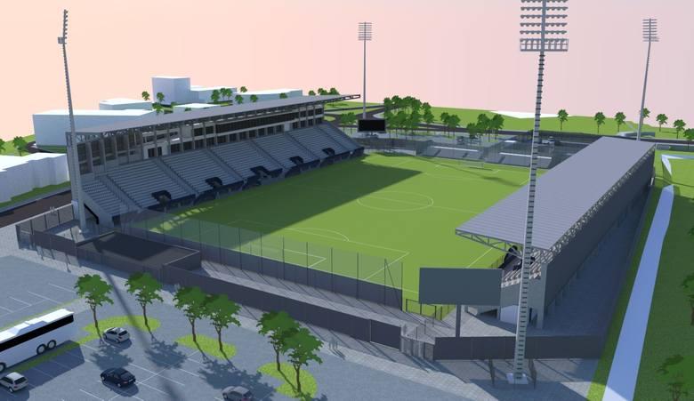 Miasto ogłosiło przetarg na budowę stadionu Sandecji. Czeka na propozycje do 11 września [WIZUALIZACJE]