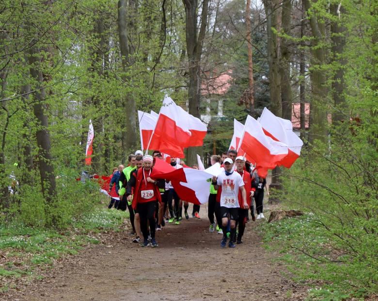 Przy okazji Biegu Konstytucji 3 maja w Radomiu, zorganizowano również symboliczny Bieg Flagi, aby podkreślić również święto flagi państwowej obchodzone
