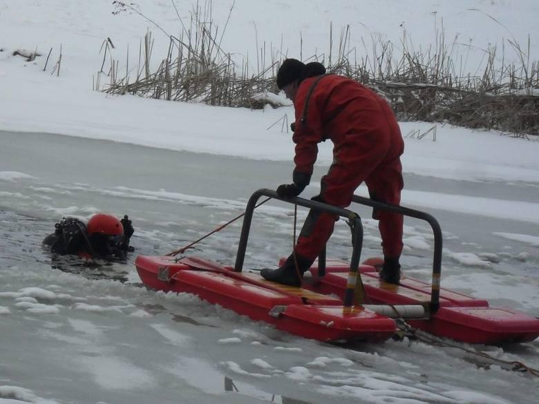 Strażacy wciąż szukają ciała mężczyzny, który utonął w Noteci
