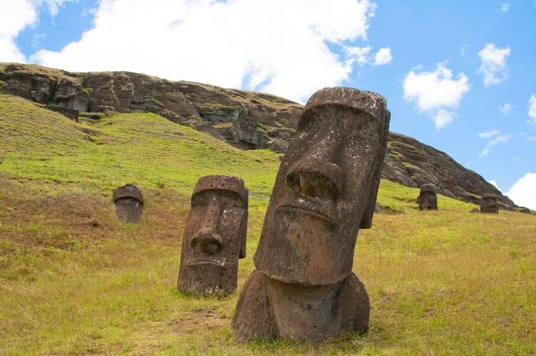 Kogo przedstawiają moai, dla kogo je ustawiano? Teorii jest tyle, ile osób je widziało. Dla jednych są to wyobrażenia wojowników, którzy jako pierwsi przybyli na wyspę, drudzy twierdzą, że to obraz dawnych mieszkańców, a jeszcze inni wspominają o przedstawieniach miejscowych bóstw