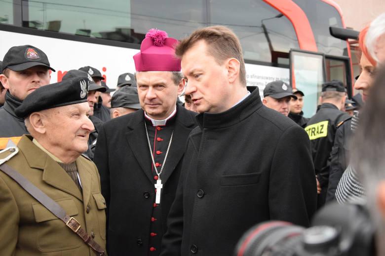 SpoKREWnieni Służbą. Minister MSWiA Mariusz Błaszczak w Kolnie