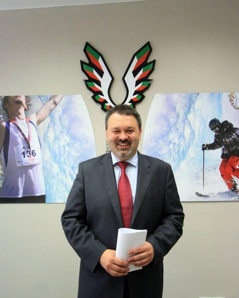 Marcin Bielski - prezes Fundacji Rozwoju Sportu w Lublinie